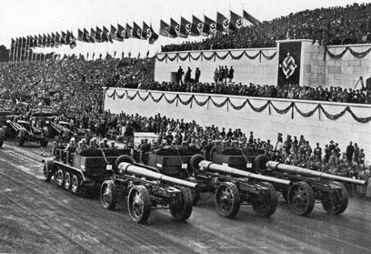 הצבא הגרמני ב-1935 (צילום: Getty Images)