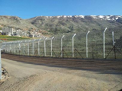 גבול ישראל-סוריה (צילום: יואב זיתון)