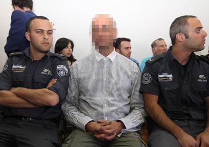 """מנכ""""ל בחדרי חרדים בדיון בבית המשפט (צילום: גיל יוחנן)"""