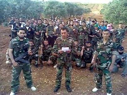 """""""יצרנו קשר עם האופוזיציה הסורית. הם לא רוצים דיאלוג"""". מורדים סורים (צילום: AFP)"""