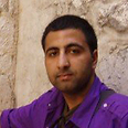 Kasim Hafeez in Israel in 2007