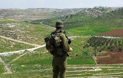 גאה לעשות מילואים ביהודה ושומרון. יניב בלומנפלד    (צילום: אופיר אבימאיר)