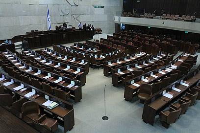 """לאישור פיזור הכנסת נדרש רוב מיוחד של 61 ח""""כים (צילום: גיל יוחנן)"""
