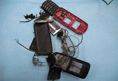 מטען מורכב שהופעל באמצעות טלפון נייד