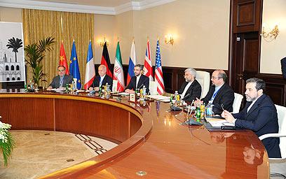 השיחות עם איראן בבגדד (צילום: רויטרס)