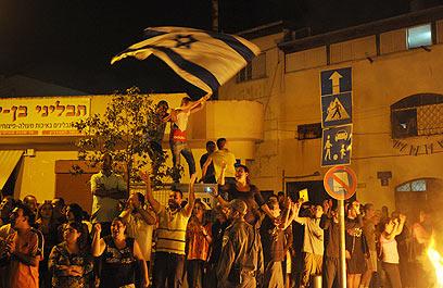 לתושבי השכונות נמאס מאוזלת היד של הממשלה (צילום: ירון ברנר)