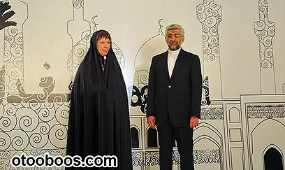 הגרסה האיראנית לאיך קתרין אשטון צריכה להתלבש לשיחות