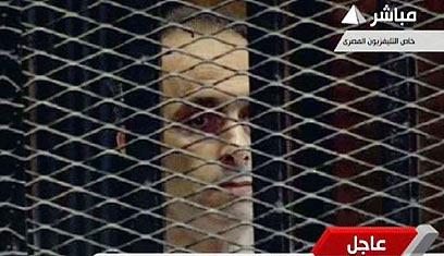 גמאל מובארק. הבנים זוכו (צילום: AFP PHOTO / EGYPTIAN TV)
