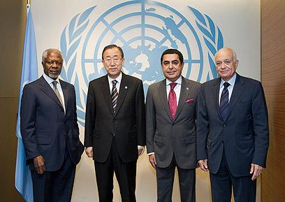 """הבכירים דנים באו""""ם בהפרות זכויות האדם בסוריה (צילום: רויטרס)"""