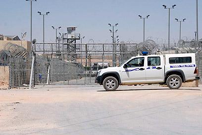 כלא סהרונים (צילום: אליעד לוי)
