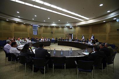 הוועדה לענייני ביקורת המדינה (צילום: גיל יוחנן)