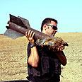Gaza rockets explode in Israel Photo: Eliad Levy