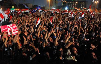 התעוררות במצרים. התגברות של כוחות קיצוניים? (צילום: AP)