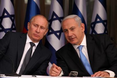 Vladimir Putin and Binyamin Netanyahu