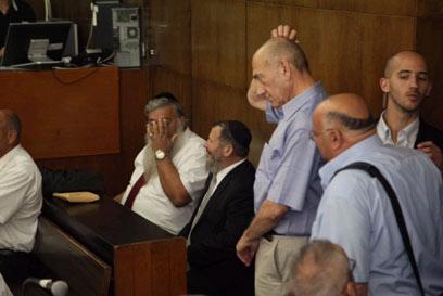 פתיחת המשפט, המחוזי תל אביב (צילום: מוטי קמחי)