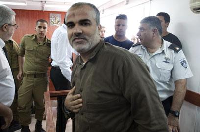 חאמד, היום בבית המשפט (צילום: AFP)