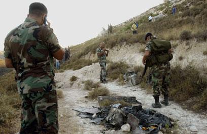 """""""מתקן ריגול"""" שחשפה חיזבאללה בעבר (צילום: AFP)"""
