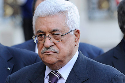 Lofty rhetoric. Mahmoud Abbas (Photo: AFP)