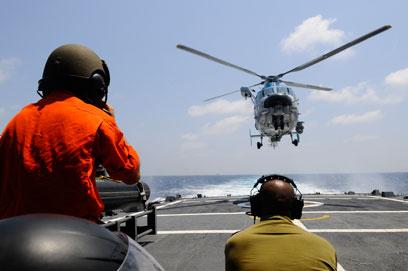 """""""הטלטלה במזה""""ת לא פוסחת על הזירה הימית"""" (צילום: דובר צה""""ל)"""