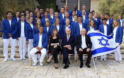משלחת ישראל לאולימפיאדה. כרטיס אוטומטי לשלב הבא? (צילום: חיים צח)