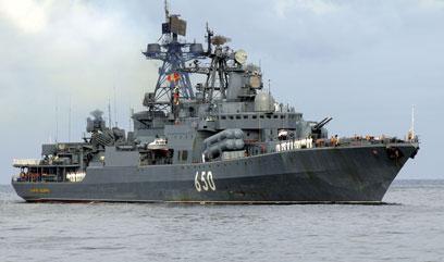 הספינות שבדרך לסוריה (צילום: AFP)