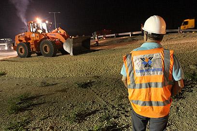 דחייה בסלילת כבישים חדשים (צילום: עידו ארז)
