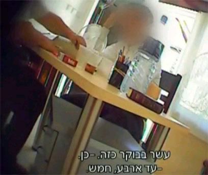 מתוך הסרטון (צילום באדיבות: ערוץ 10)