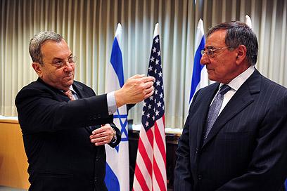"""""""הבעיות הן רמות"""". ברק ופאנטה (צילום: אריאל חרמוני, משרד הביטחון)"""