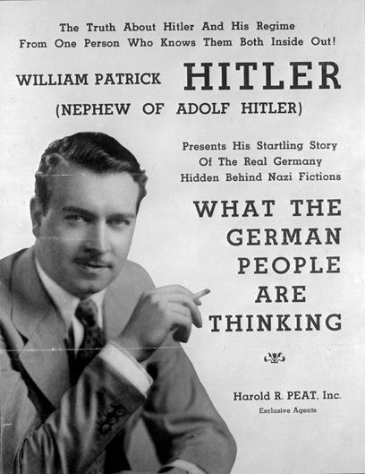 """היטלר כינה אותו """"האחיין המגעיל שלי"""" (צילום: gettyimages)"""