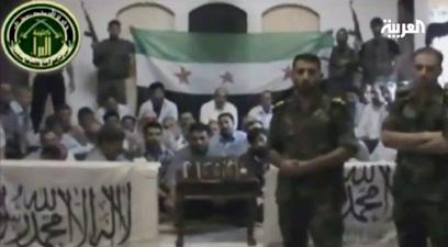 החטופים האיראנים בסרטון שפורסם באוגוסט (צילום: EPA)