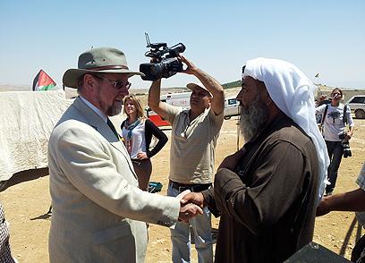הסיור הדיפלומטי בהר חברון (צילום: אליאור לוי)