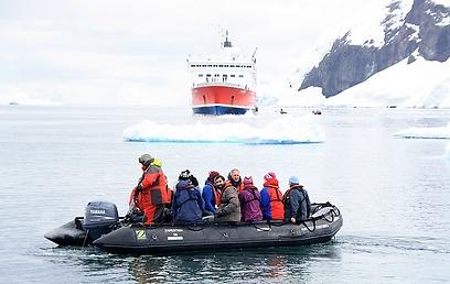 התחבר עם ישראלים בדרך לאנטארקטיקה דרך האהבה המשותפת (צילום: מאיר אלפסי)