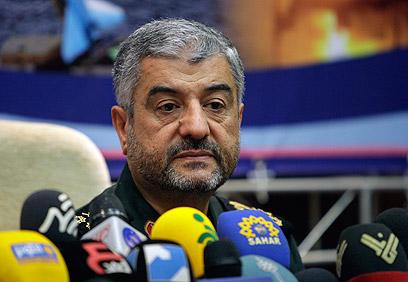 מפקד משמרות המהפכה מוחמד ג'עפרי  (צילום: AP)