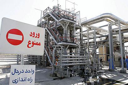 מתקן המים הכבדים בכור באראק (צילום: gettyimages)