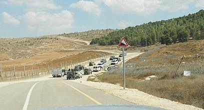 """חיילים סרקו את האזור שבו הופל המזל""""ט"""