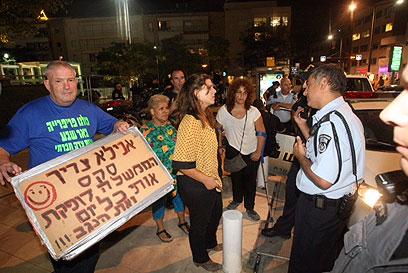דפני ליף, הערב בתל אביב (צילום: מוטי קמחי)