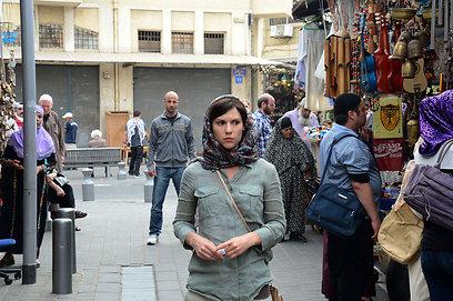 """לא בטוח שבביירות יש אוהדים לבית""""ר ירושלים. קלייר דיינס ביפו (צילום: AP)"""