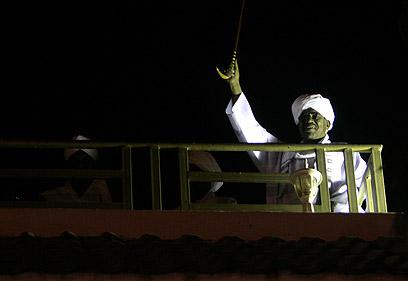 """באשיר. """"תגובה היסטרית"""" (צילום: AFP)"""