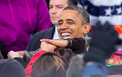 """אובמה. """"אני יודע מה זה שינוי"""" (צילום: AP)"""