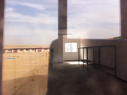 """המבנים החדשים במתקן הכליאה """"שדות"""""""