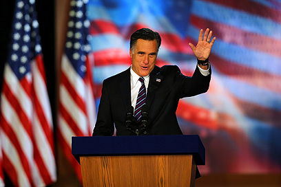 המועמד המועדף על גורמים בליכוד הפסיד. רומני (צילום: AFP)