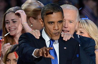 גורמים בליכוד הביעו אכזבתו מבחירתו המחודשת של אובמה (צילום: AFP)