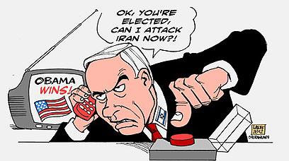"""יכול כבר להפציץ את איראן? נתניהו ב""""אל-משהד"""""""