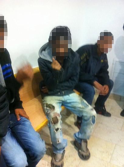 """""""הקטינים הושמו במעצר בתחנה בדימונה ללא סדינים ושמיכות"""""""