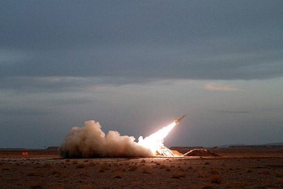 התרגיל האיראני הגדול, היום (צילום: AP)