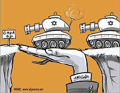 השתיקה הערבית סוללת את הדרך של הטנקים הישראליים לעזה
