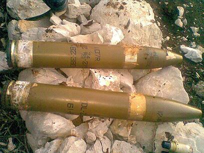 רקטות שכוונו בלבנון לעבר ישראל (צילום: AFP)