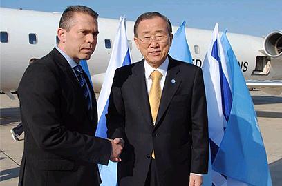 """מזכ""""ל האו""""ם נוחת בישראל, היום"""