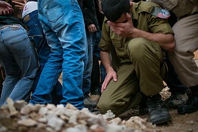 הלווייתו של פרטוק. ירושלים, היום (צילום: אוהד צויגנברג)