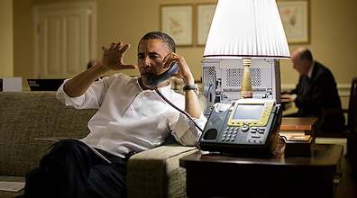 US President Barack Obama (Archive photo: AFP/THE WHITE HOUSE / Pete Souza)